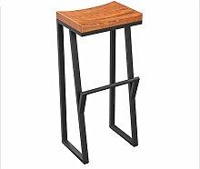 GONGFF Creative high stool leisure bar chair retro