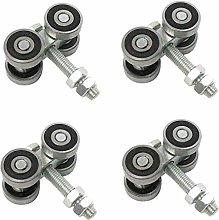 GONGFF Furniture Rolls (4 Parts) Heavy Duty Roller