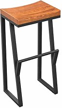 GONGFF High Chair Bar Stool Solid Wood Front Desk