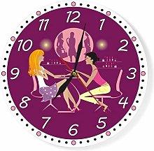 gongyu Wall Clock Kitchen Nail Studio Beauty Salon