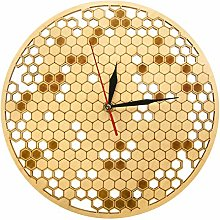 gongyu Wall Clock Modern Wood Clock Watch Kitchen