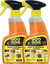 Goo Gone Adhesive Remover Spray Gel - 2 Pack -