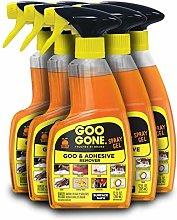 Goo Gone Original Spray Gel [6 Pack] - Removes