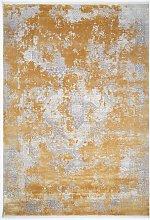 Gooch Luxury Distressed Kazak Rug, Gold, L340 x