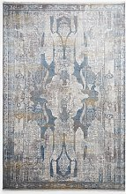 Gooch Luxury Distressed Ornate Rug, L340 x W240