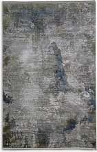 Gooch Luxury Illusion Ice Rug, Blue