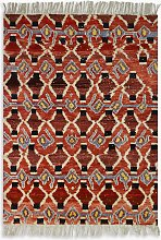 Gooch Oriental Berber Style Rug, Multi, L164 x