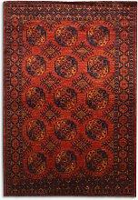 Gooch Oriental Ersari Rug, Red, L293 x W200 cm