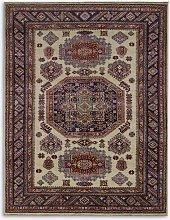Gooch Oriental Kazak Supreme Rug, Ivory, L191 x