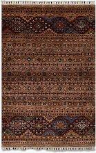 Gooch Oriental Khurjeen Rug, Brown, L154 x W102 cm