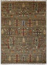 Gooch Oriental Khurjeen Rug, Brown, L237 x W177 cm