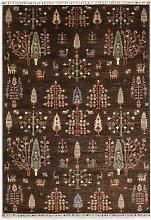 Gooch Oriental Khurjeen Rug, Brown, L248 x W175 cm