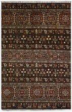 Gooch Oriental Khurjeen Rug, Brown, L255 x W172 cm