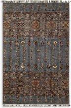 Gooch Oriental Khurjeen Rug, Multi, L159 x W103 cm