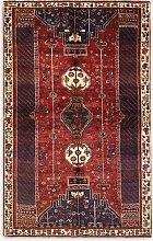 Gooch Oriental Quashgai Rug, Multi/Red, L258 x