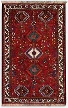 Gooch Oriental Shiraz Rug, Red, L132 x W85 cm