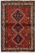 Gooch Oriental Shiraz Rug, Red, L162 x W113 cm