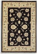 Gooch Oriental Ziegler Rug, Black, L145 x W100 cm