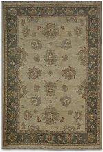 Gooch Oriental Ziegler Rug, Ivory, L145 x W100 cm