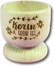 Good Egg Name Wooden Egg Cup | Personalised Egg