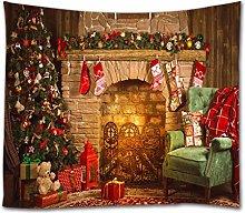 goodbath Christmas Tapestry, Xmas Merry Christams