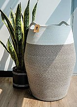 Goodpick Laundry Basket | Woven Cotton Rope Dirty