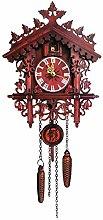 Goodtimera Wall Cuckoo Clocks, Black Forest Wooden