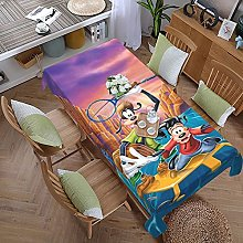 Goofy 59 Inches X 107.9 Inches Color Style Table