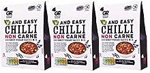 Gordon Rhodes V and Easy Chilli Non Carne Gourmet