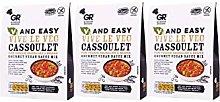 Gordon Rhodes V and Easy Vive Le Veg Cassoulet.
