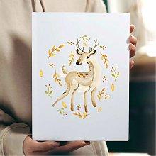 Gorgeous Deer Wall Art Print | Gift for Friends &