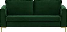 Gosena 2,5 Seater Sofa-Velluto 10-gold metal