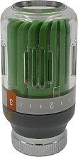 Goshe - Green/Grey Radiator Thermostatic Valve