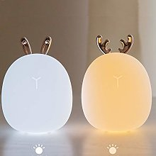 Gossttui table lamp Cute Silicone Light Touch Pat