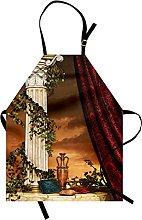 Gothic Apron Greek Style Scene Climber Pillow