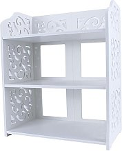 GOTOTOP 3-Tier White Home Shoes Display Holder &