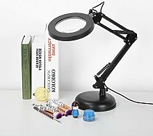 GOTOTOP 5X Magnifying Desk Lamp - with LED Eye