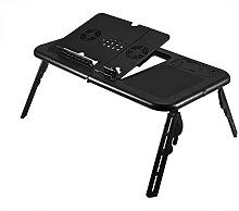 GOTOTOP Adjustable Portable Folding Laptop Table