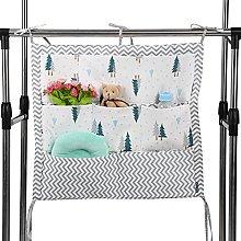 GOTOTOP Baby Hanging Storage Bag, Baby's Cot
