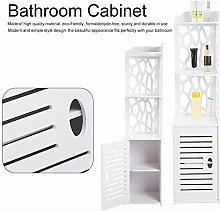 GOTOTOP Bathroom Cabinet Standing Corner Shelf