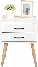 GOTOTOP Bedside Cabinet Table Sofa Side End Table