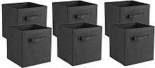 GOTOTOP Foldable Storage Cubes, 6Pcs large
