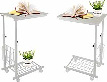 GOTOTOP Height Adjustable Desk, Side tables with