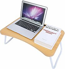 GOTOTOP Multifunctional Folding Bed Desk for
