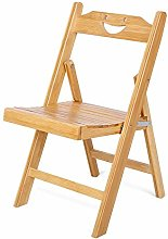 GOTOTOP Portable Bamboo Folding Chair, Foldable