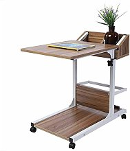 GOTOTOP Portable Bed Table,Wheelchair Table Desk