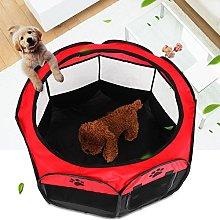 GOTOTOP Puppy Playpen, Portable Foldable Pet