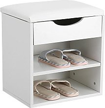 GOTOTOP Shoe Cabinet Bench Shoe Rack Shoe Rack