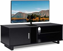 GOTOTOP TV Stand Cabinet, Durable Wood TV Stand TV