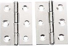 Gouen 2Pcs Stainless Steel 2 Inch 4.4x3.1cm
